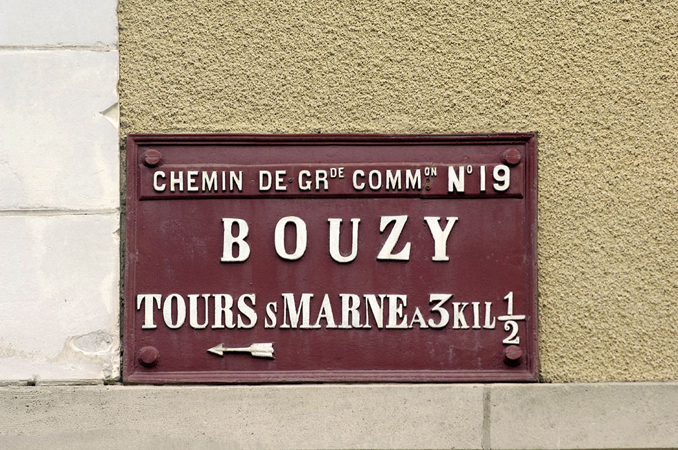 Bouzy village