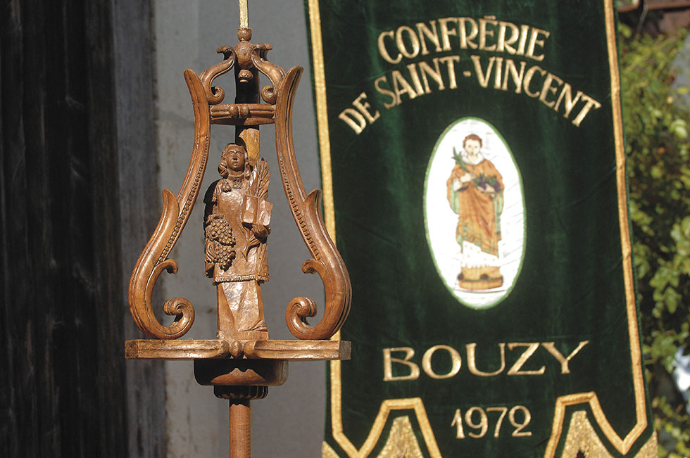 Confrérie de Saint Vincent à Bouzy