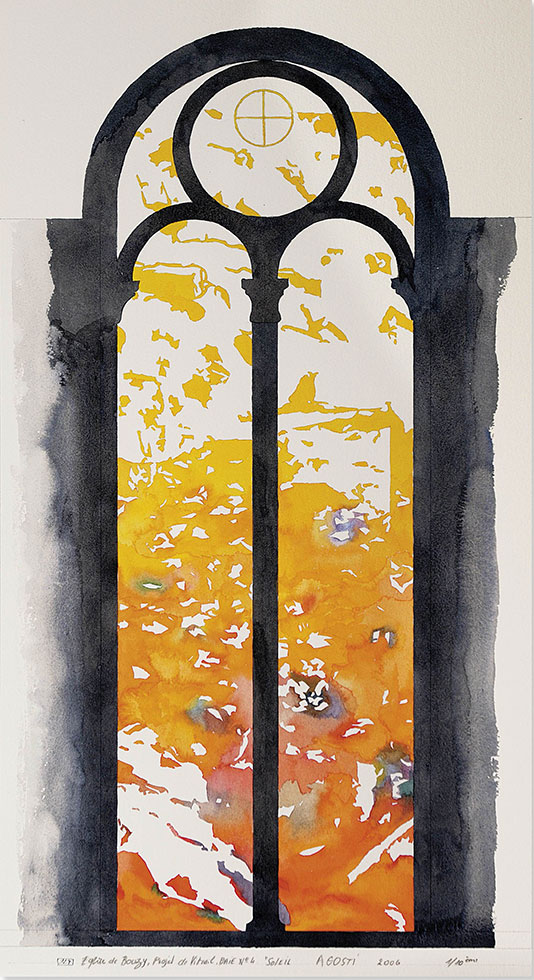 Vitraux église saint Basle de Bouzy
